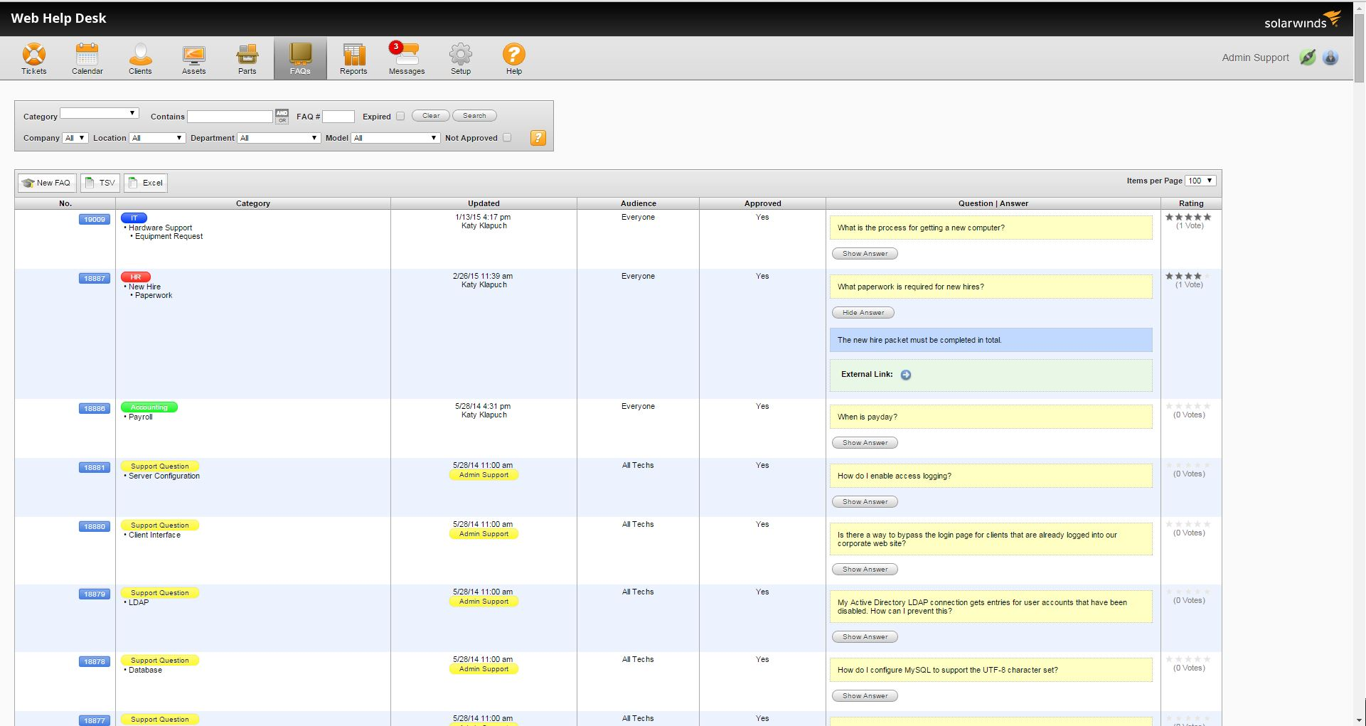 solarwinds screenshot