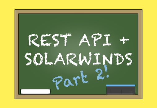 solarwinds rest api
