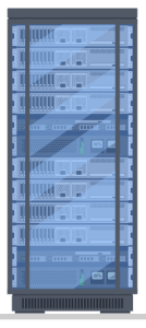computer server illustration