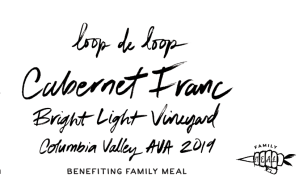Cabernet Franc charity wine