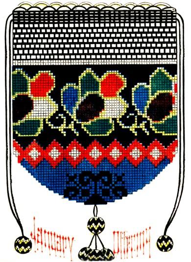 Crocheted Purse 1860
