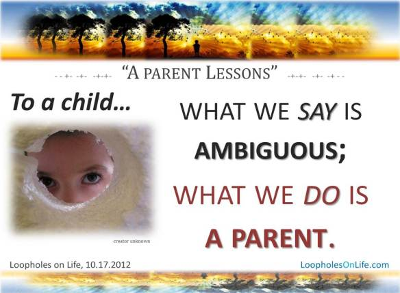 find clarity in parenting...