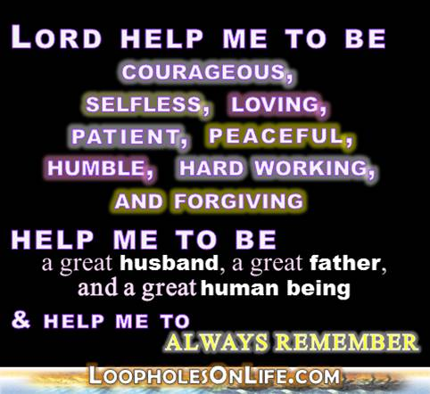 Lord, help me to be great -- or at least better.
