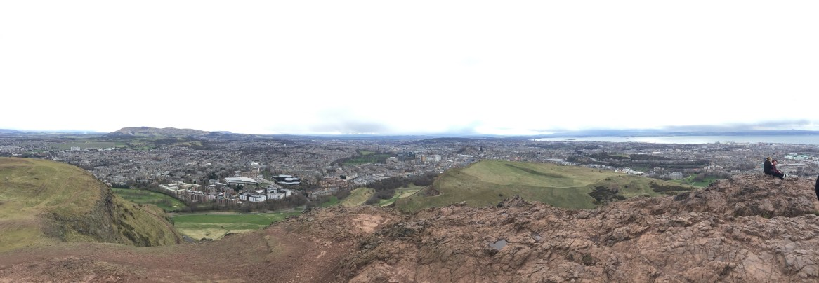 Panorama Above Edinburgh