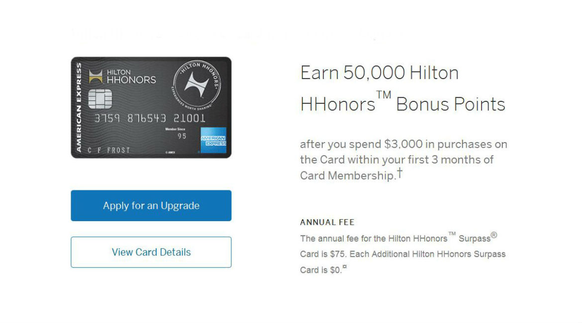 amex upgrade offer 6