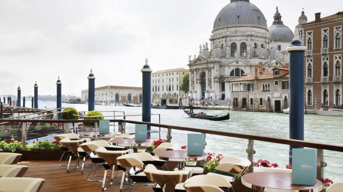 View of Salute from Gritti Palace