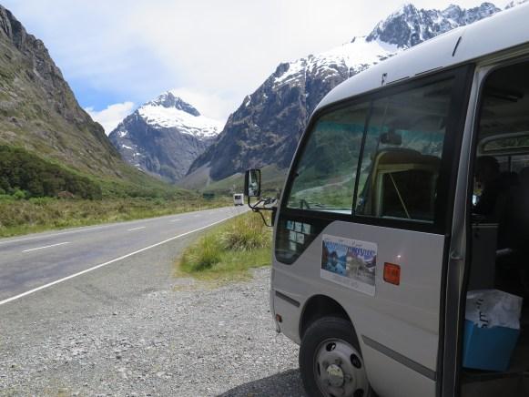Fiordland Tours Bus