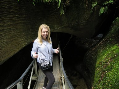 Entering the Caves