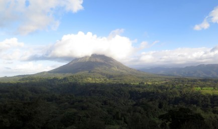 Fantastic views of the Arenal Volcano