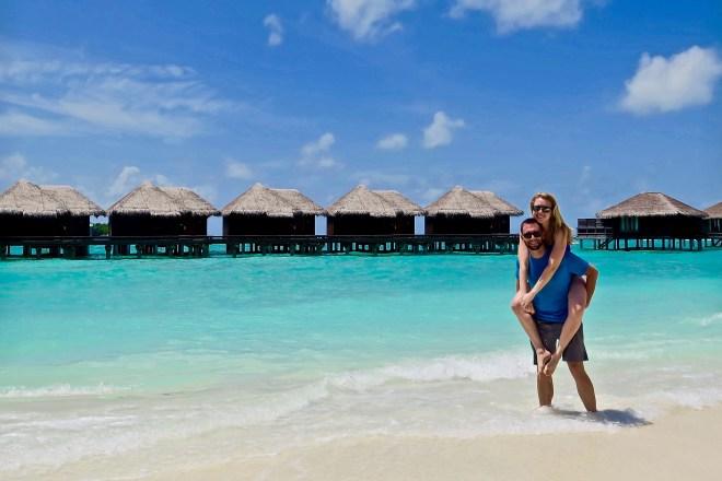 Beach pics in the Maldives