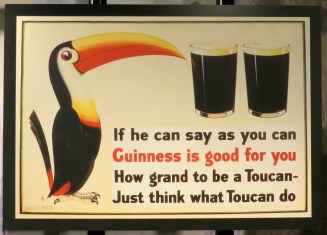 Old-School Toucan Advertisement