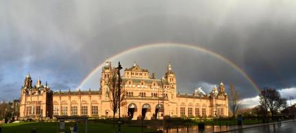 Double Rainbow over the Museum!
