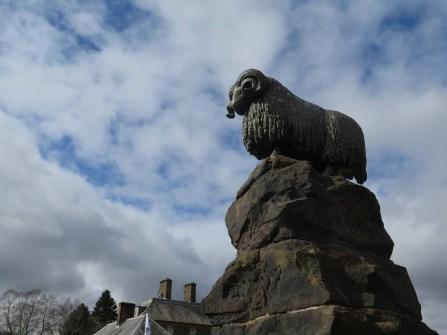 Moffat Statue