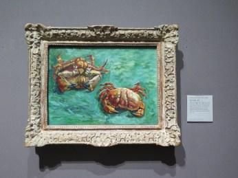 Two Crabs - Van Gogh