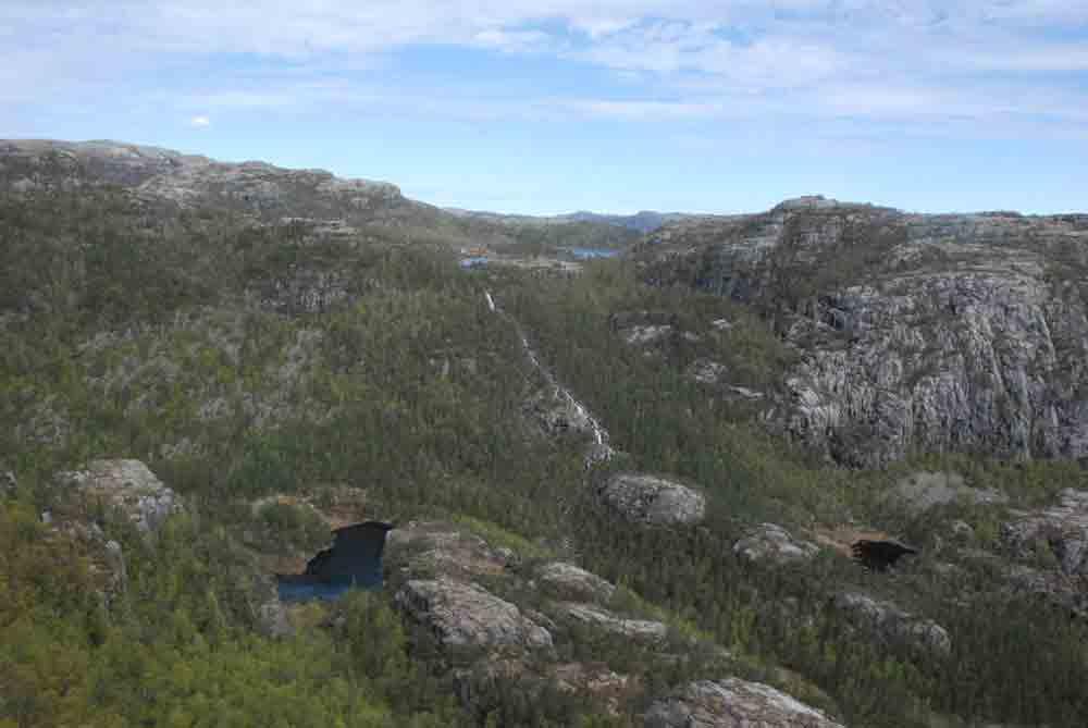 Aufstieg-preikestolen-Norwegen