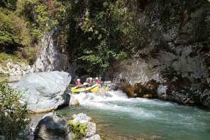 """As long as you survive, it is perfect!"" Rafting in Kalabrien"