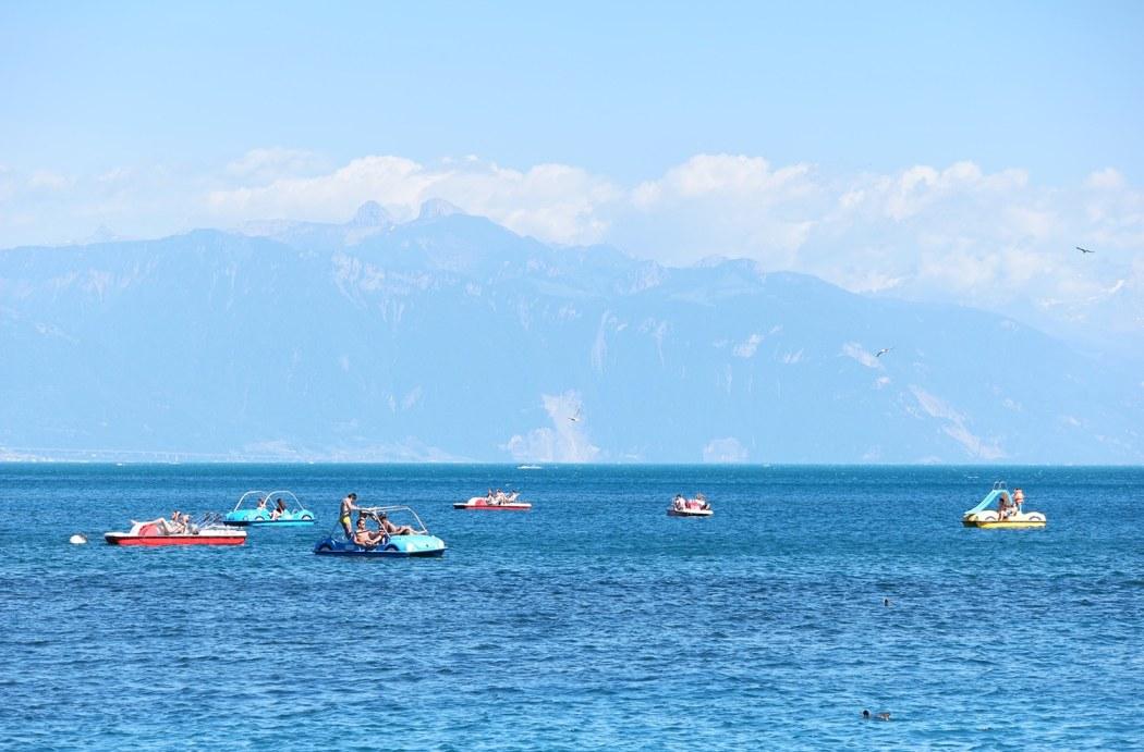 das wunderschöne Lausanne am Genfersee