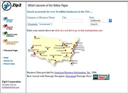 Zip2 İnternet Sitesi