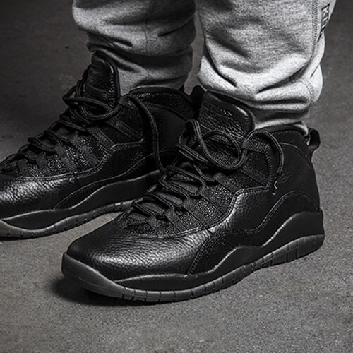 Air Jordan 10 Black OVO