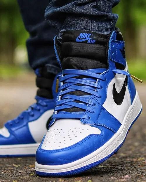 Jordan 1 Game Royal Shoelaces