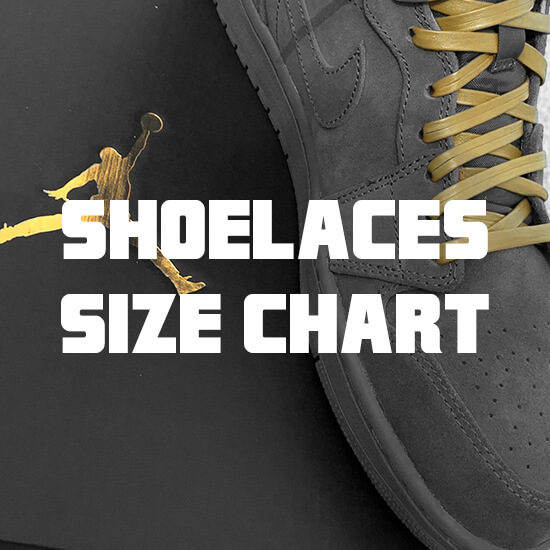 shoelace size guide banner