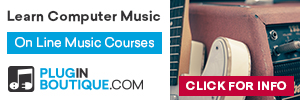 On Line Music Courses from Pluginboutique.com