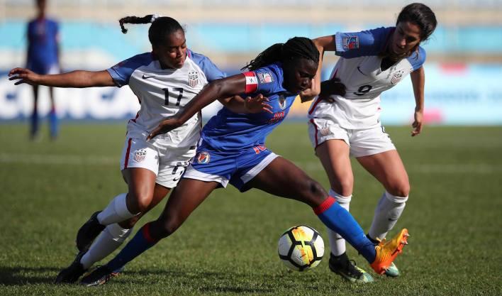 Haïti vs Etats-Unis. Photo: Concacaf