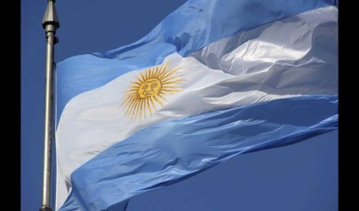 Le drapeau argentin. Photo:telediariodigital.ne