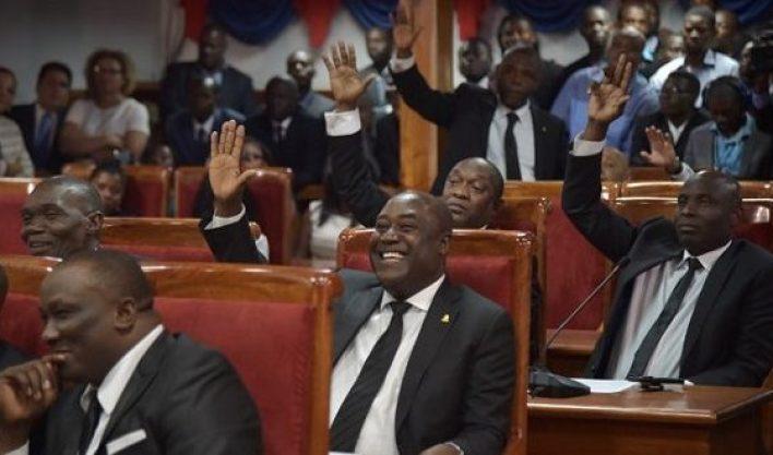 Une séance au parlement. Photo: Ma Santé