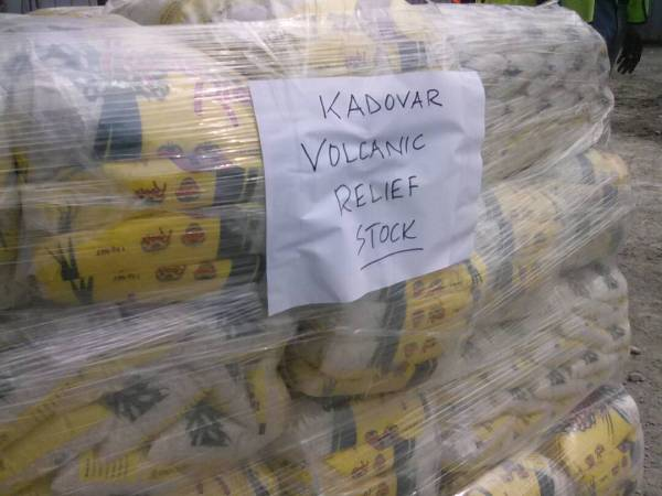 50 bales of rice for Kadovar | Loop PNG
