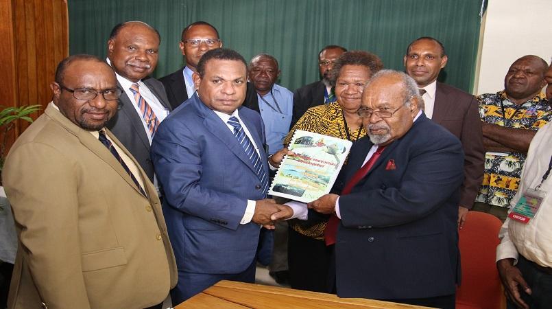 Sir Michael presents last budget to Treasury | Loop PNG
