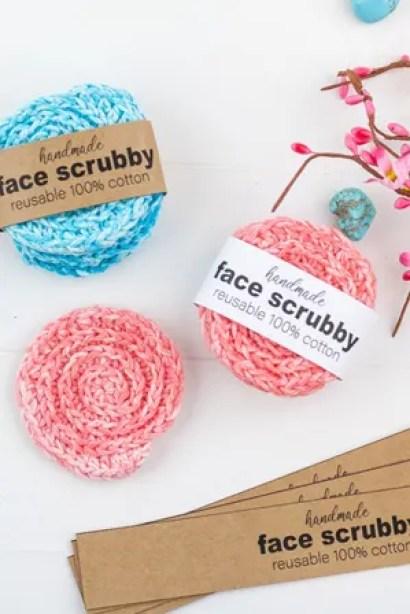 Crochet Face Scrubby