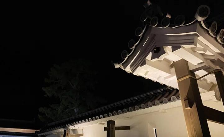 小田原城 春のイルミネーション~光の回廊~