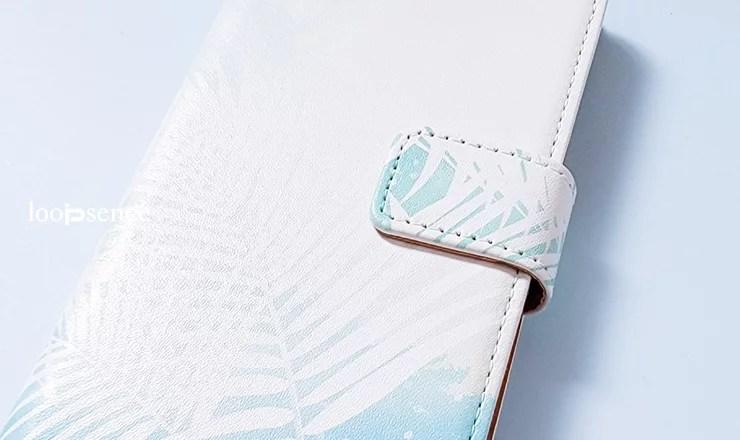 ループセンス、【受注生産】シロノセカイ / ループセンスオリジナル手帳型スマホケース