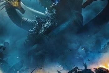 哥吉拉2:怪獸之王 海報