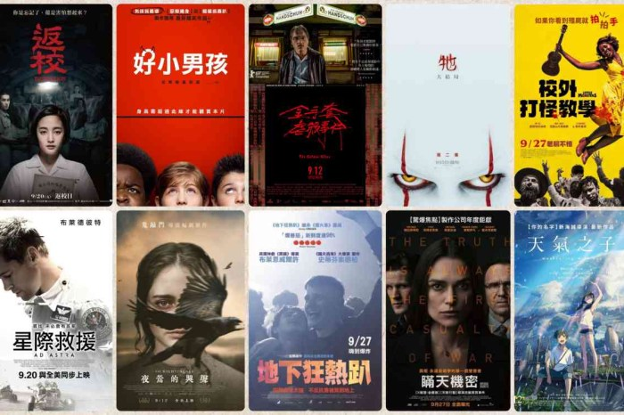 2019年9月電影推薦