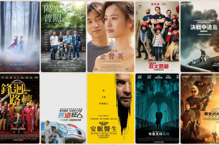 2019電影推薦 11月