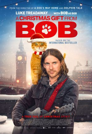 【影評】《再見街貓BOB》用溫馨故事來跟貓咪道別