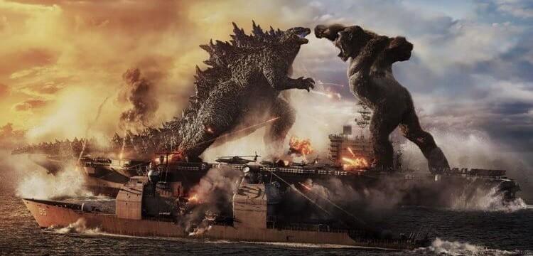 《哥吉拉大戰金剛》預告釋出,台灣3/24上映王者一決勝負