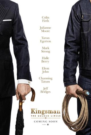 【無雷影評】《金牌特務:機密對決》紳士與牛仔的華麗結合
