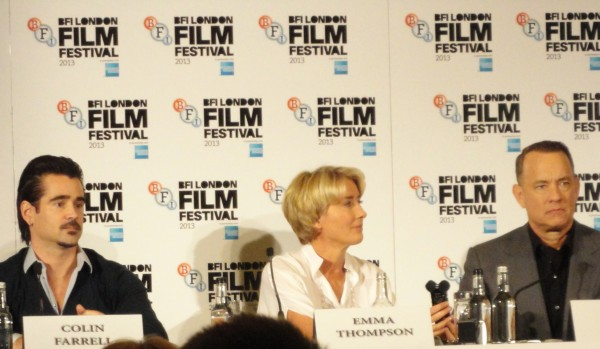 Colin Farrell, Emma Thompson & Tom Hanks