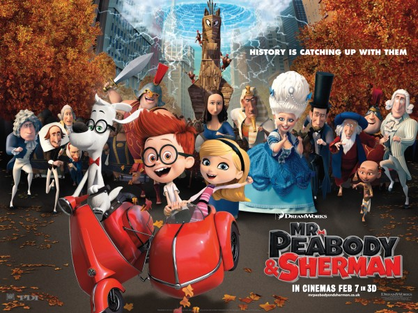Mr Peabody and Sherman Launch Quad