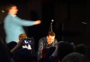 Michael Fassbender at Frank
