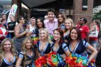 Justin Trudeau and the Argo Girls