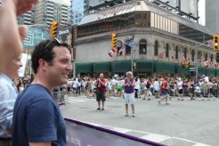 Marching with Rick Mercer!?!?