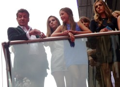 Sylvester Stallone & daughters