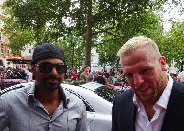 David Haye & James Haskell