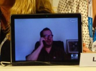 Lars von Trier Skypes in