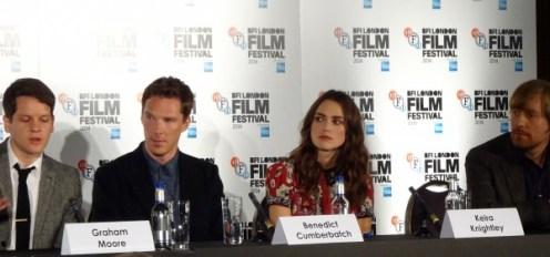 The Imitation Game: Graham Moore, Benedict Cumberbatch & Keira Knightley & Morten Tyldum