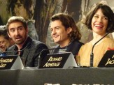 The Elves: Lee Pace, Orlando Bloom & Evangeline Lilly